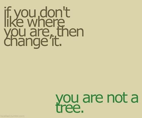 u r not a tree